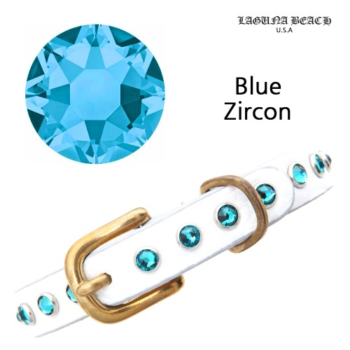 PUPPY JEWELRY Blue Zircon